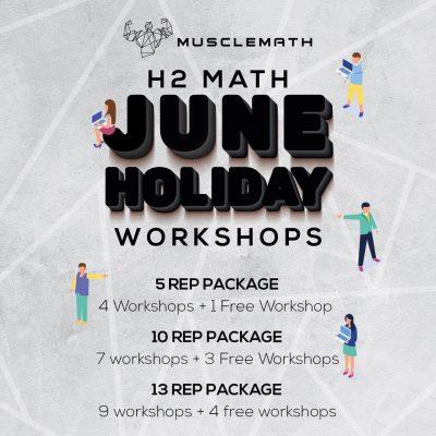 JC H2 Maths Workshop