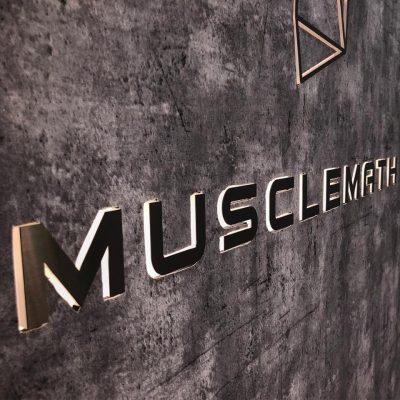 Muscle math tuition centre entrance